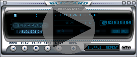 Embedded audio player